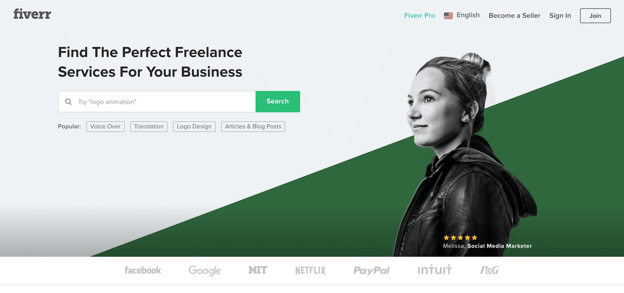 Fiverr(ファイバー): ギグワーカー向け・スキルPRでマッチングして仕事をもらう